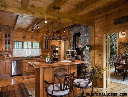 Cocinas r sticas my dream home pinterest love love - Decoracion casas rusticas ...