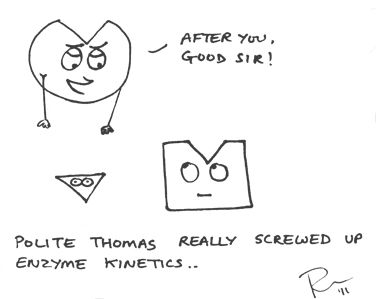 Enzyme kinetics by Moraxella.deviantart.com on @deviantART