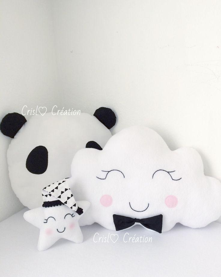 Cloud boy pillow