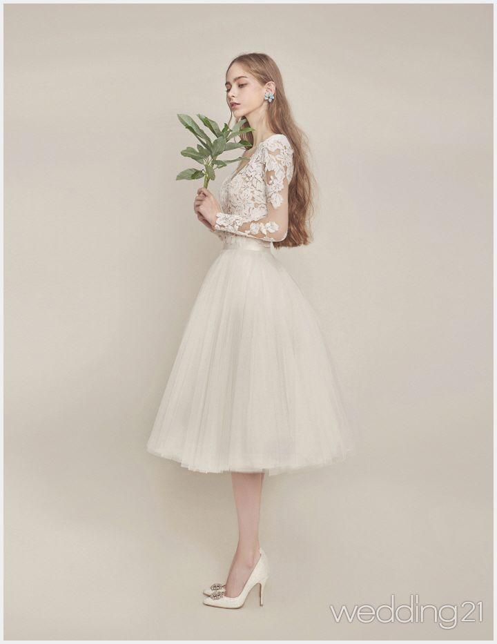 청초함과 우아함을 겸비한 아름다운 웨딩드레스, 메티에쿠튀르 2
