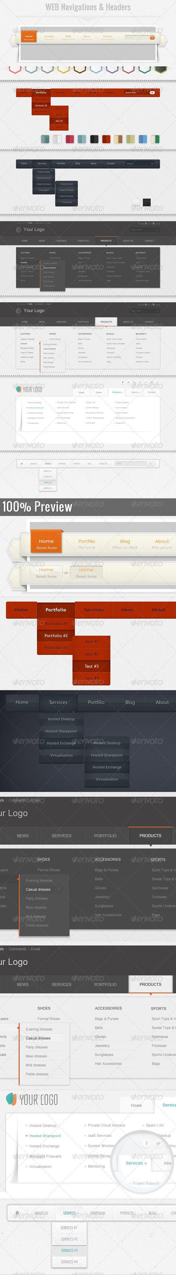 Web Navigation & Headers