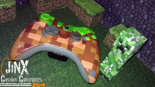 Custom minecraft controller for Xbox 360