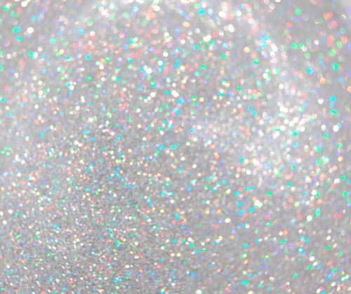 HOLOGRAPHIC/IRIDESCENT GLITTER white silver or pastel ...