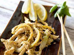 Cocina oriental: Salteado de #pollo con #sésamo