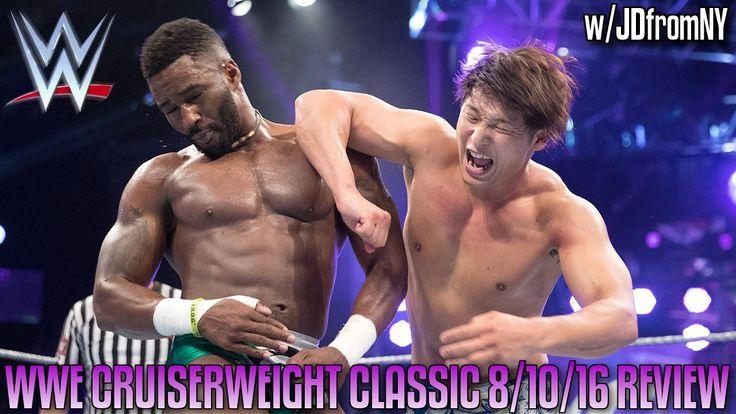 WWE Cruiserweight Classic 8/10/16 Review - KOTA IBUSHI VS CEDRIC ALEXAND...
