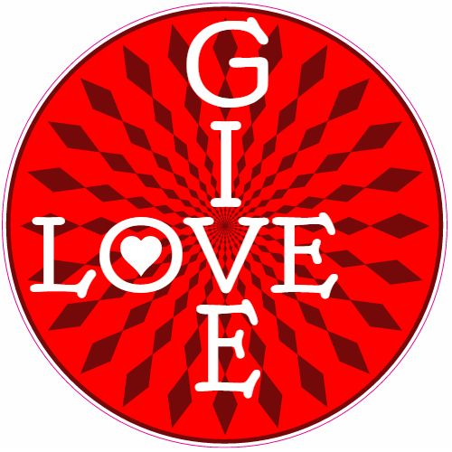 Get this Give Love Abstract Circle Sticker online at the U.S. Custom Stickers Decal Store. Shop for high quality stickers at cheap prices. Buy here.
