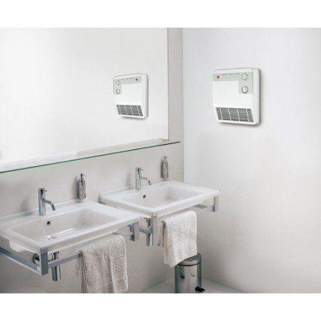 radiateur soufflant salle de bain fixe lectrique aurora sbe60 2000 w - Radiateur Electrique Soufflant Mural Salle De Bain Noirot