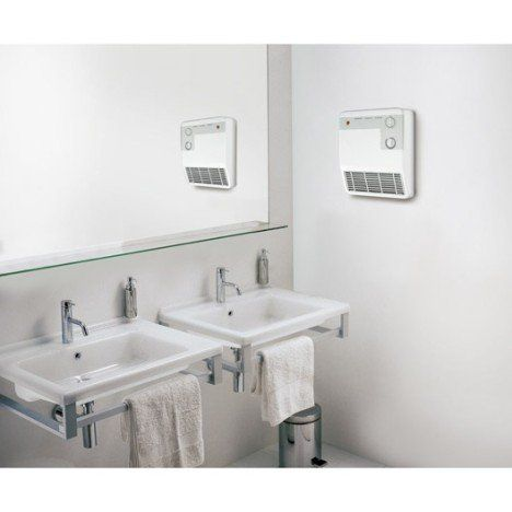 Radiateur soufflant salle de bain fixe électrique AURORA Sbe60 2000 W