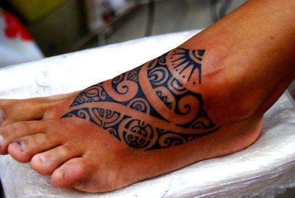 Tattoo Art Polynesian