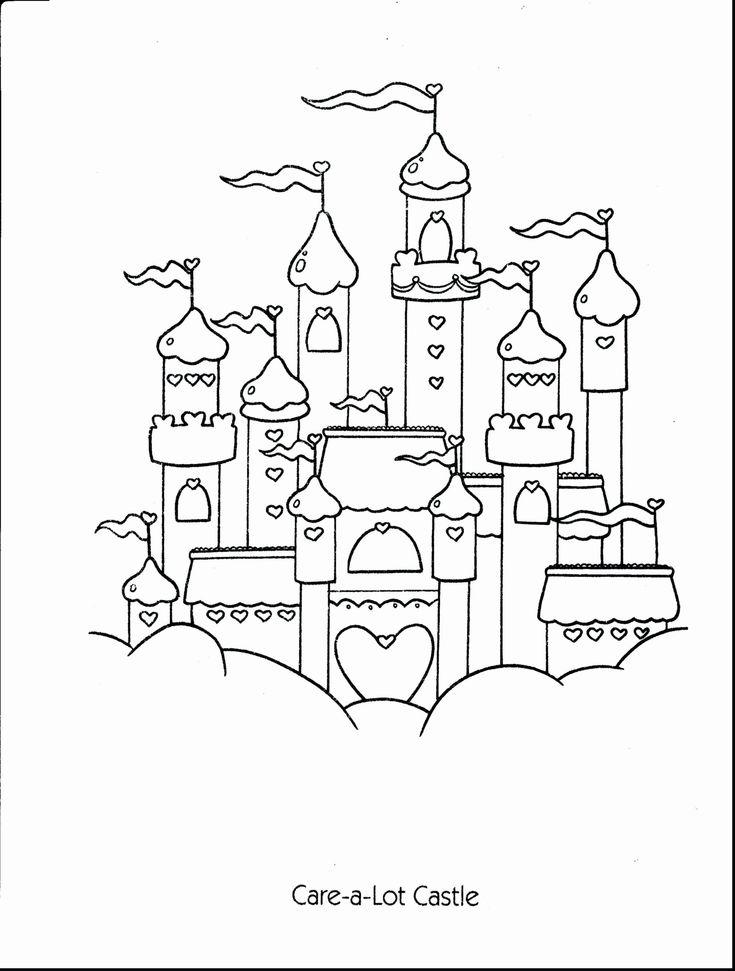 Dornröschenschloss Ausmalbilder Neues Schloss Ausmalbilder