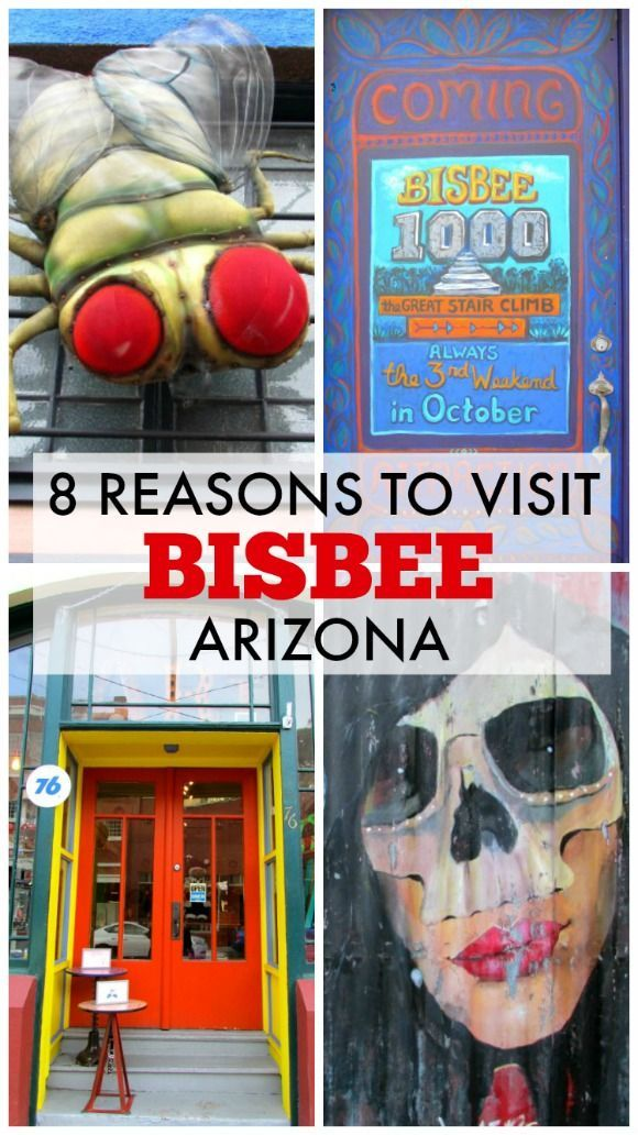 "Bisbee (Arizona) is known as the ""Queen of Copper Camps"" since it proved to be one of the riches mineral sites in the world. Nowadays, it is quirky, authentic and free-spirited. Here are 8 reason why you should visit."