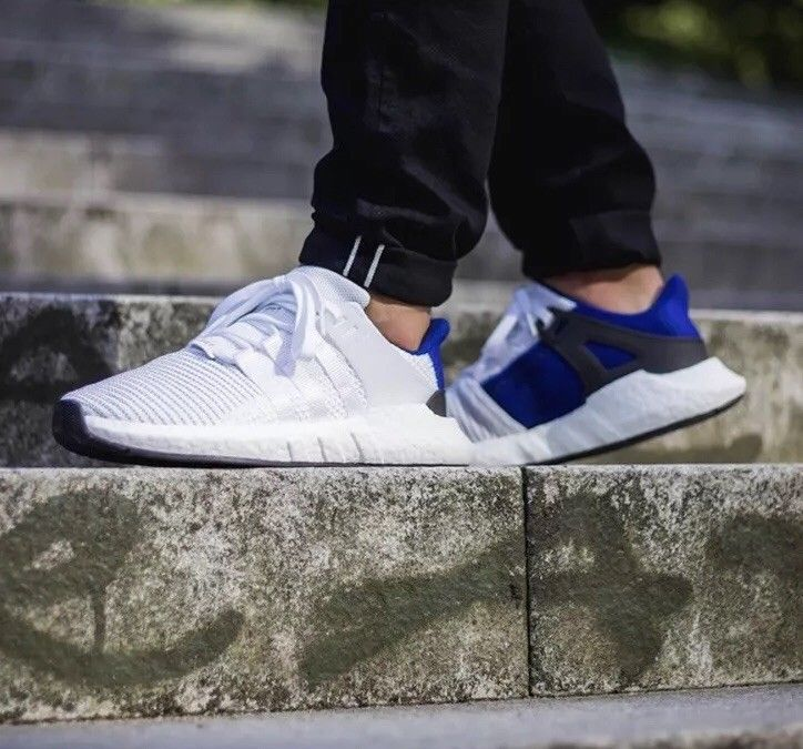 Adidas Originals EQT SUPPORT 9317 Sneakers 11M White Blue