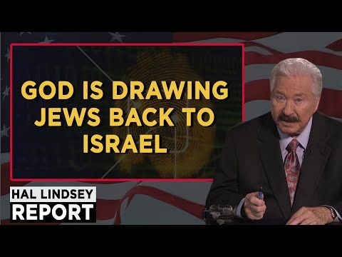 Hal Lindsey September 05, 2017 - God is Drawing Jews Back To Israel - Report This Week - YouTube