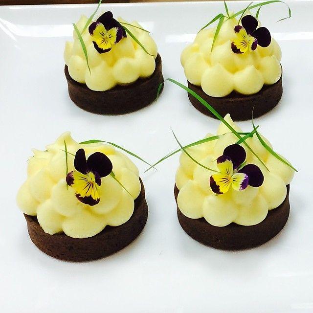 Chocolate Passion Fruit tart by Antonio Bachour