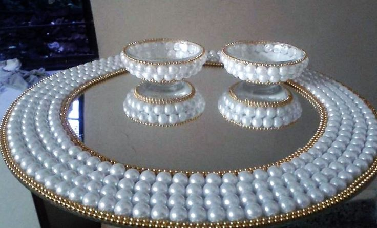 DIY Aarti Thali for Diwali