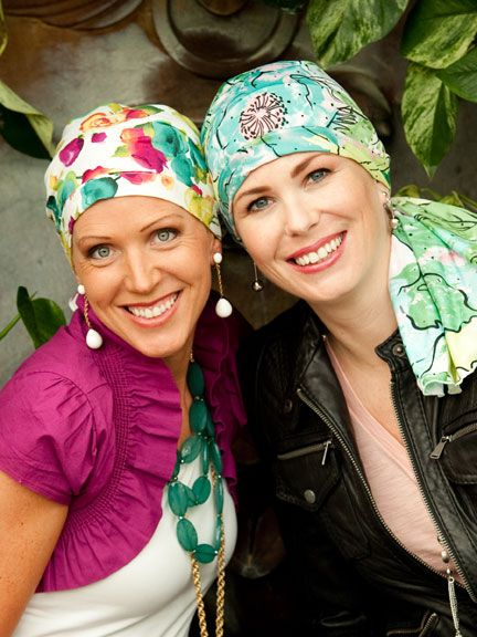 Your search for the perfect Spring headscarves is over! Cute Pre-tied headscarves for cancer patients. No folding or tying. Ready to go in seconds.