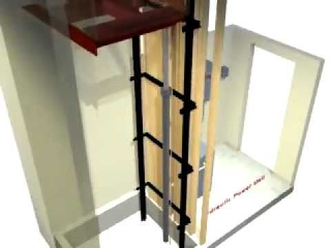 21 best diy elevator images on pinterest elevator dumb for Diy elevator plans