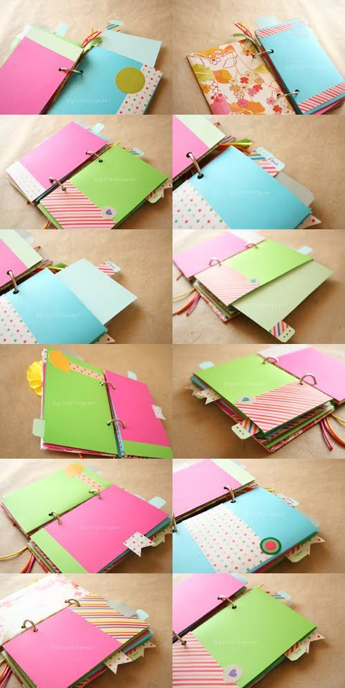 Craftingeek*: Album Scrapbook FACIL // dia de las madres