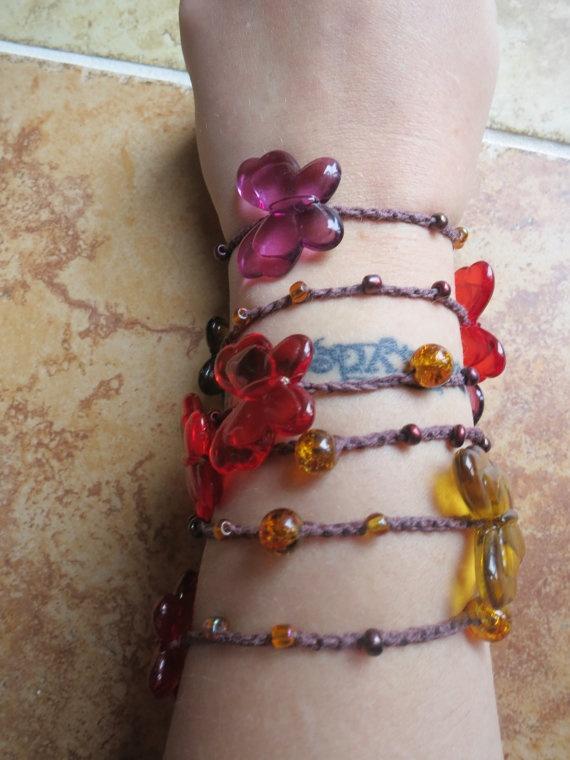 I'll Fly Away Versatile necklace/ wrap bracelet/ by FleasKnees, $15.00: 20 00, 15 00