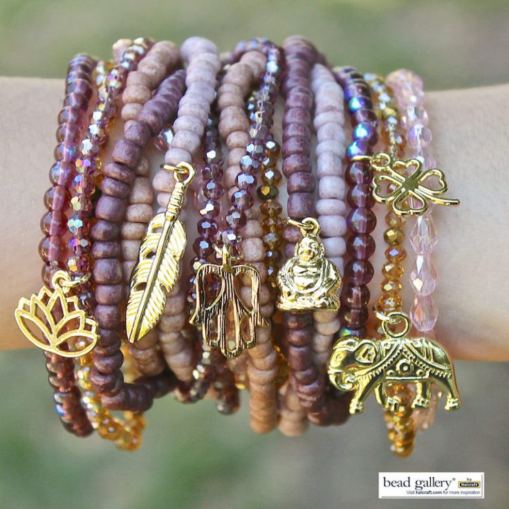 Burgundy Bliss Bracelets model watermark