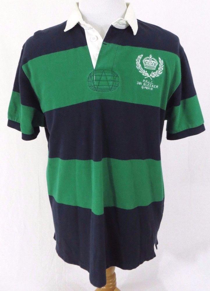 Ralph Lauren Cream Big Polo Player Rugby Shirt