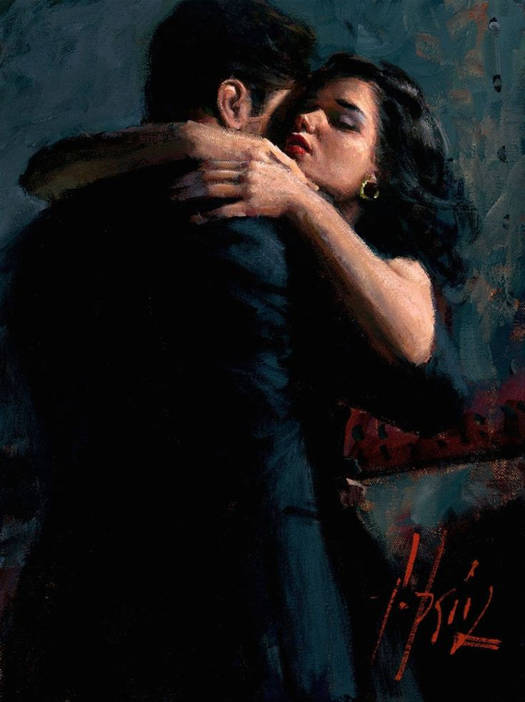 Romantic Encounters Paintings by Fabian Perez – Fubiz Media