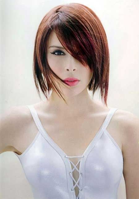 25 Short Straight Hairstyles