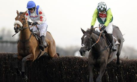 Horse racing: Denman back to his best with awesome win in Hennessy Gold Cup