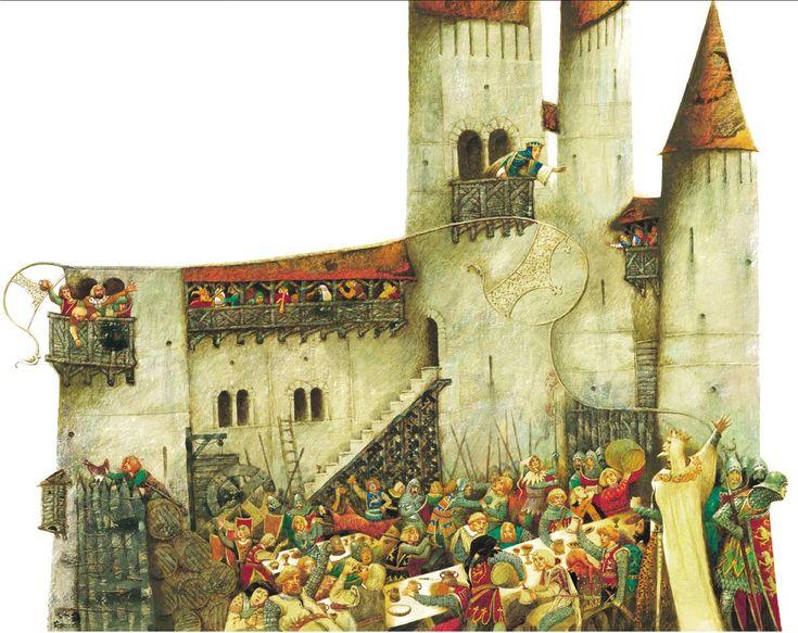 King Lear. Illustrator Pavel Tatarnikov.