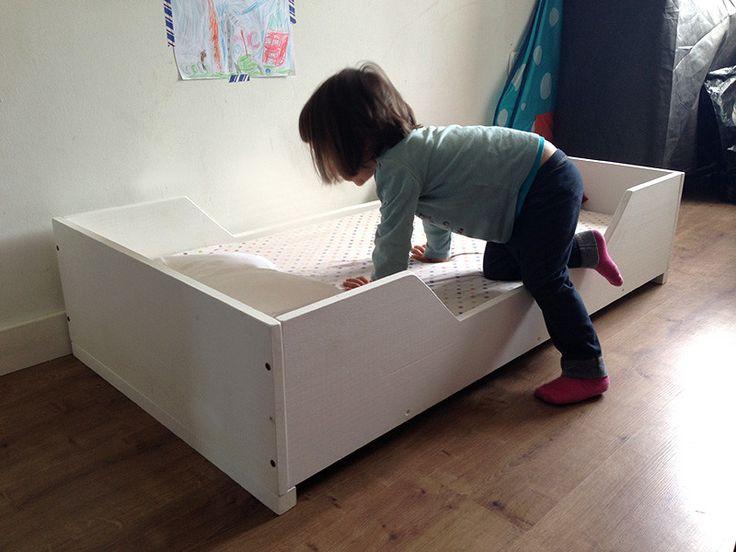 17 melhores ideias sobre cama montessori no pinterest for Cama transicion