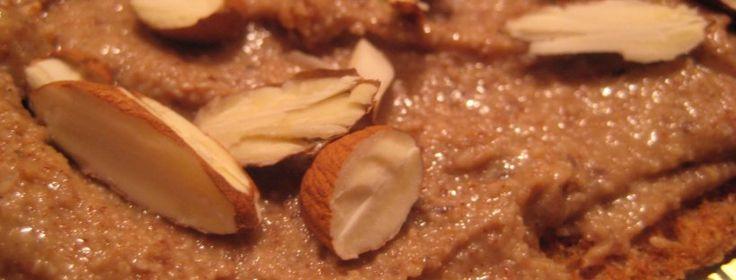 Mandelsmør på fiberrig knækbrød