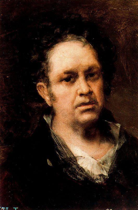 Francisco de Goya >> Self-portrait 1 Estamparcheros Art and Design