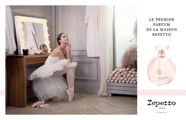 Repetto's fragrance - Discover the advertising campaign for the First Fragrance by Repetto with Dorothée Gilbert, Prima Ballerina / Photographer : James Bort
