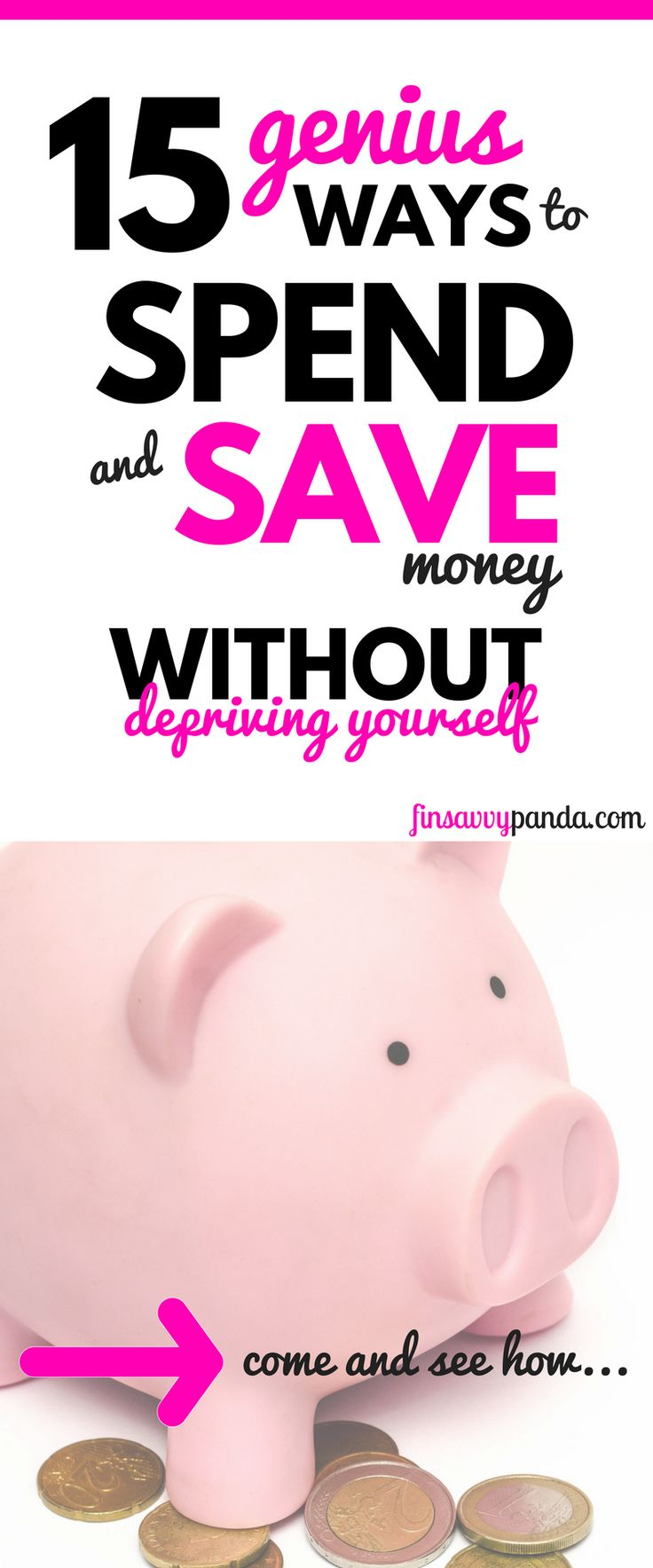How to save money and yet, have fun at the same time. There is no need to deprive yourself! Learn how to save and spend money the smart way. | save money | money tips | saving money ideas | personal finance tips | budget tracker | budget organizer | get out of debt | how to save money | frugal living tips | frugal living ideas | millennial
