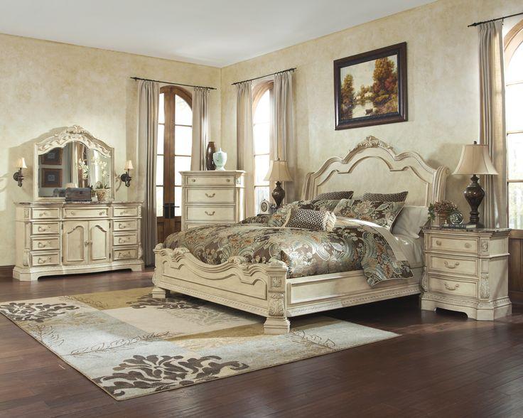 Distressed White Bedroom Set VesmaEducationcom