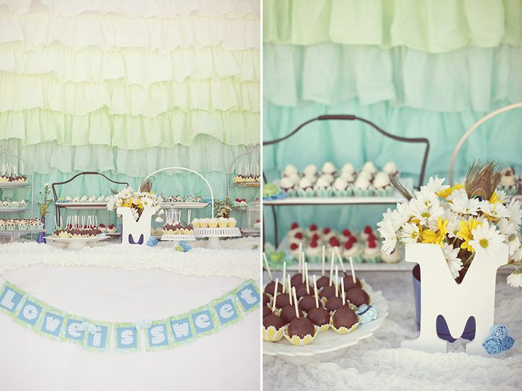 our DIY wedding dessert table with treats from family, friends and Sweet & Saucy Shop.