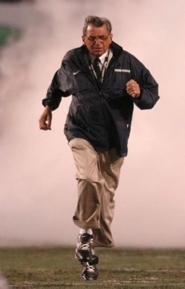 JoePa... so many memories of penn states greatest head coach. penn state will never be the same RIP ♥