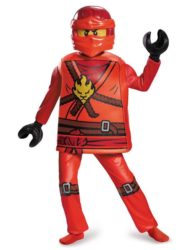 Deluxe Lego Kai Ninjago™ kostuum voor kinderen #Lego #Ninjago #NexoKnights #Kerst2016