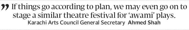 First theatre festival at Karachi Arts Council - The Express Tribune
