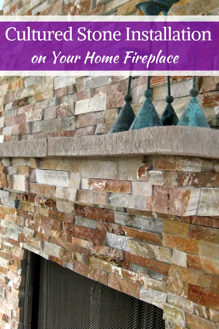 Installing Cultured Stone Fireplace How To Install Cultured Stone On A Fireplace Home Improvement