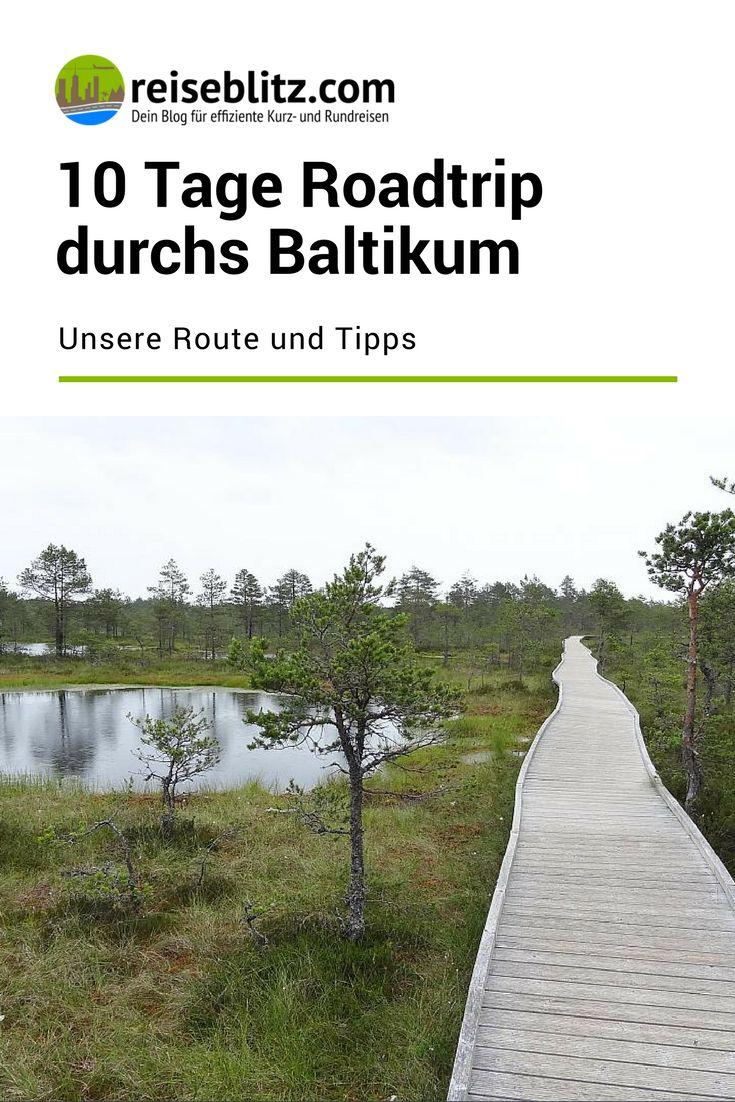 10 Tage Roadtrip durchs Baltikum: Unsere Route
