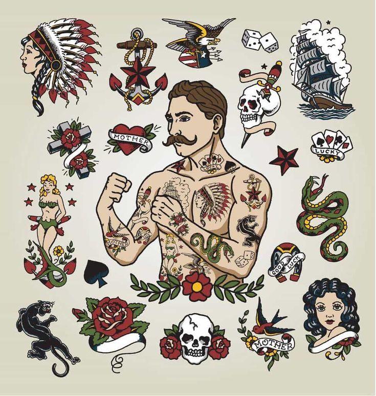 Nice Tattoo Trends American Traditional Tattoo Jpg 973 1024 Karizmatik Dovmeler Dovme Tasarimlari Hipster Man