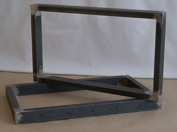Steel bench legs coffee table legs bench base coffee table