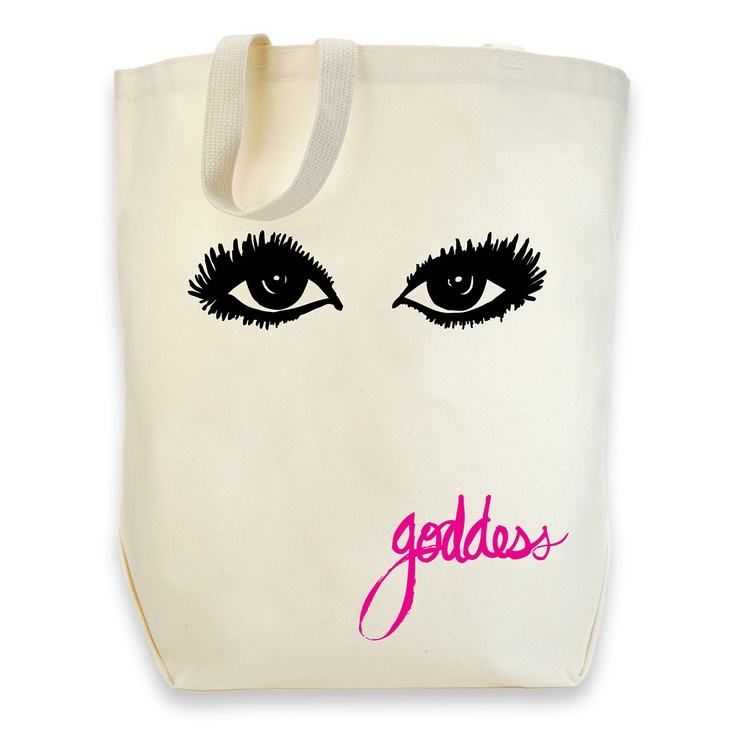 dogeared goddess cotton tote #givedogeared