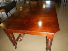 excellent condition Late Victorian extension table