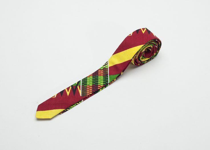 Kumasi Skinny Tie