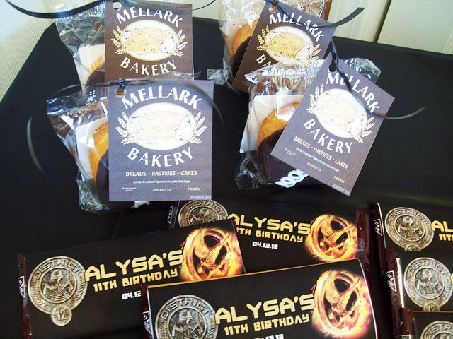 Hunger Games Party Favors by Kid's Birthday Parties, via Flickr