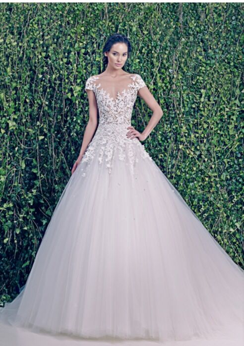 37 best wedding dresses images on pinterest wedding dressses zuhair murad 2014 simple yet elegant bridal pret a porter dress junglespirit Image collections