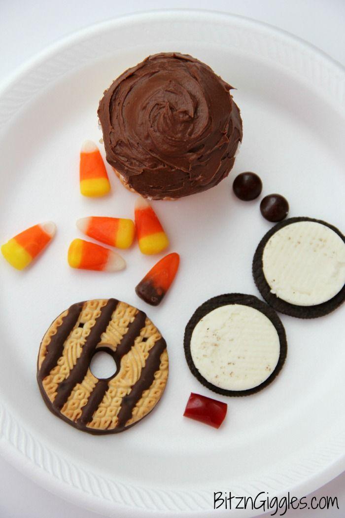 Wide Eyed Turkey Cupcakes