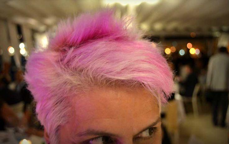 La serata in rosa di Cristina Bowerman a Le Lampare al Fortino di Trani! http://www.ditestaedigola.com/cristina-bowerman-le-lampare-si-tingono-di-rosa/